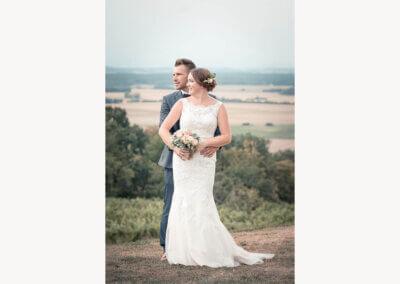Hochzeitsfoto vom Hochzeitspaar