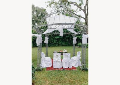 Altar im Freien